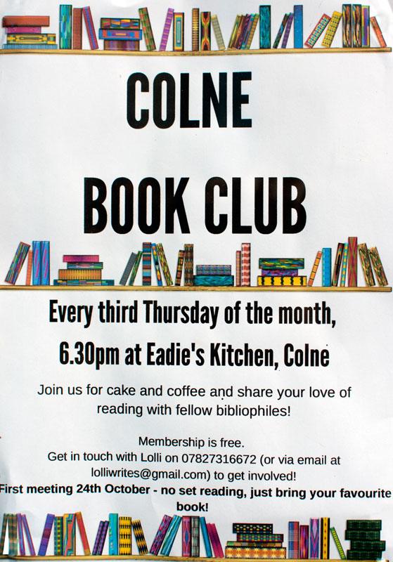 Book Club at Eadie's Kitchen