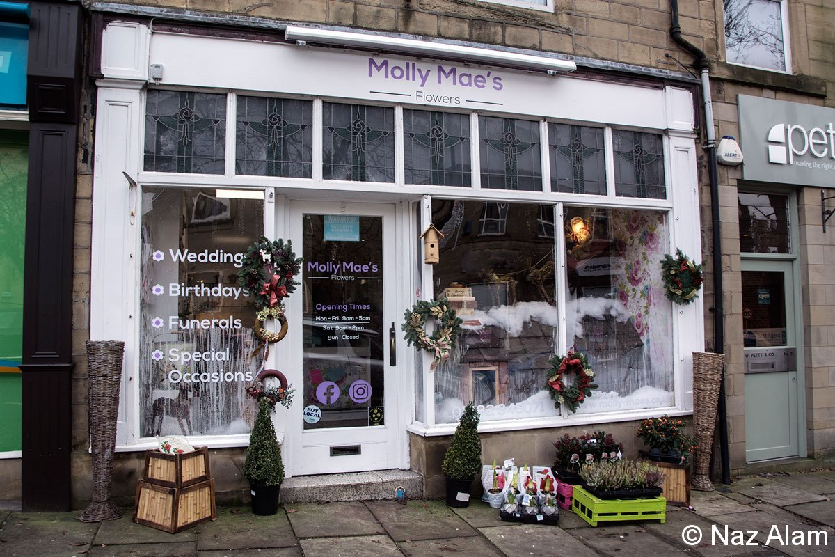 Christmas in Colne: Window Dressing Competition