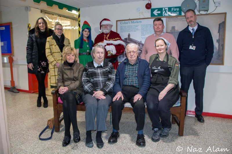 Colne Market_- cheque presentation to Home Start East Lancs