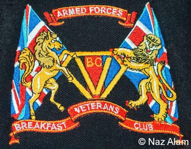 Colne Veterans Breakfast Club  - Logo