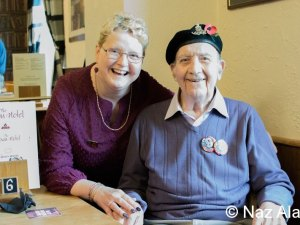Colne Veterans Breakfast Club  - Remembrance