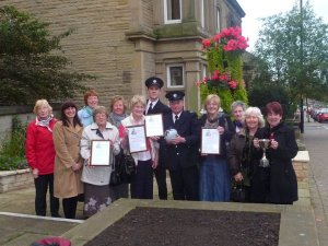 RHS in Bloom Award (2010) for the Memorial Garden