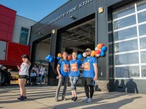 MND Charity Walk 2019 - Burnley Fire Station