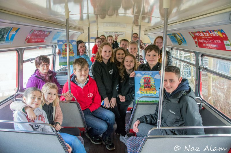 Pendle Hippodrome Youth Theatre - promoting 'Summer Holiday'