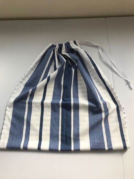 Wash bag used to transport uniforms