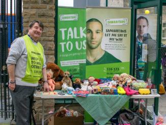 Samaritans Pop up Stalls